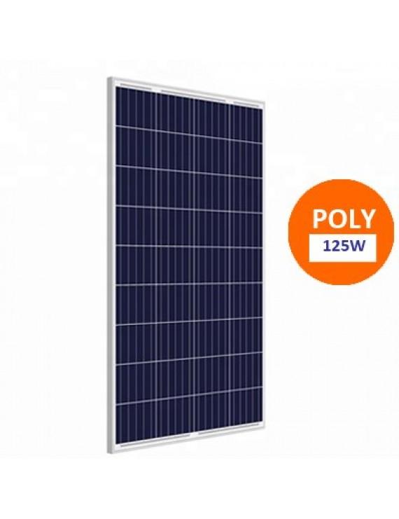125w Polykristal Solar Panel