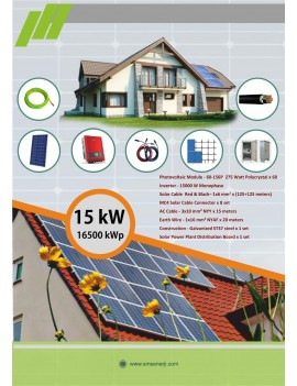 15 Kw On-Grid System