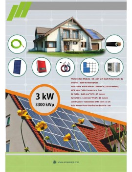 3 Kw On-Grid System