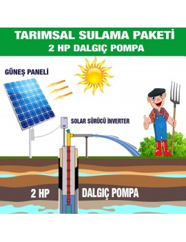 2HP SUBMERSIBLE PUMP - AGRICULTURAL IRRIGATION SYSTEM