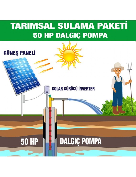 50 HP SUBMERSIBLE PUMP - AGRICULTURAL IRRIGATION SYSTEM