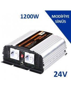 1200W-24V Modified Sınus İnverter