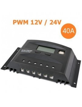 40A PWM Charge Controller