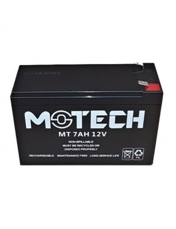 7AH-12V MOTECH DRY TYPE BATTERY